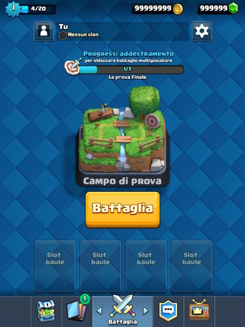 Clash Royale trucchi gratis 2016 ios android