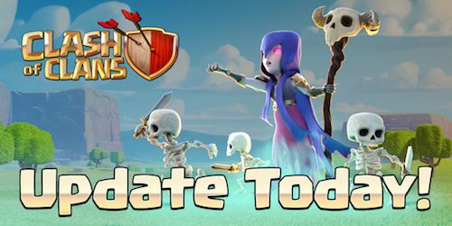 Clash of Clans aggiornamento gratis ios android