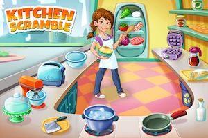 Trucchi Kitchen Scramble per mobile e browser