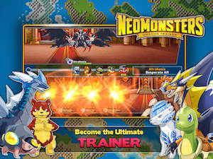 Neo Monsters ipa apk trucchi gemme infinite illimitate ios android