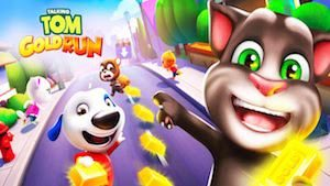Trucchi Talking Tom Corsa all'oro