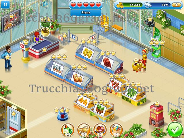 Trucchi Supermarket Mania Journey ios android