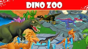 Trucchi DINO ZOO – Jurassic Dinosaur world