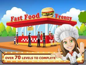 Trucchi Fast Food Frenzy Master Kitchen Chef