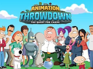 Trucchi Animation Throwdown The Quest for Cards