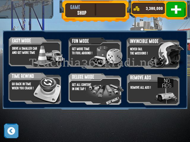 Trucchi Trucker Parking Simulator 2 gratis ios android