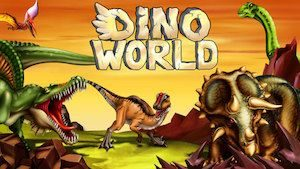 Trucchi DINO WORLD Jurassic Dinosaur Fighting