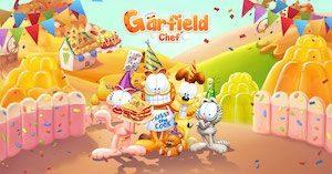 Trucchi Garfield Chef cibo in gioco