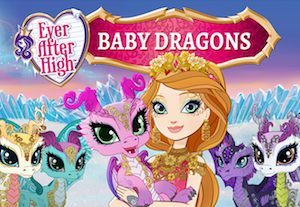 Trucchi Ever After High Baby Dragons