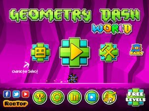 Trucchi Geometry Dash World