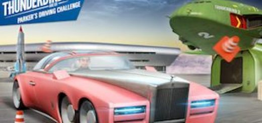Parkers Driving Challenge Thunderbirds Are Go trucchi