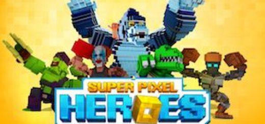 Super Pixel Heroes Casual Arcade Action gratis
