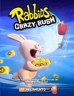 Rabbids Crazy Rush trucchi ios android facebook
