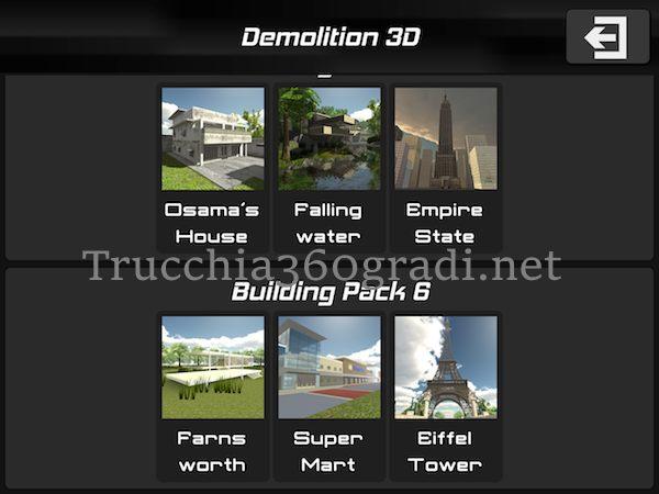 sbloccare tutti i pacchetti su Disassembly 3D Ultimate Demolition