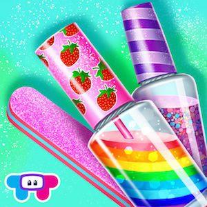 Trucchi Manicure di caramelle – Dolce gioco di moda