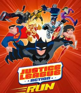 Trucchi Justice League Action Run
