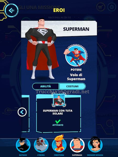 download trucchi Justice League Action Run