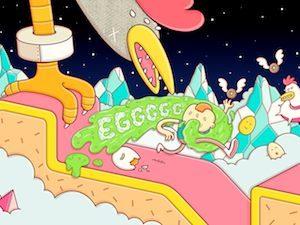 Trucchi Eggggg – Il gioco a piattaforme vomitevole