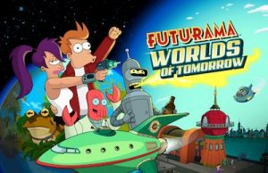 Trucchi Futurama Worlds of Tomorrow