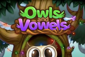 Trucchi Owls and Vowels: Word Game