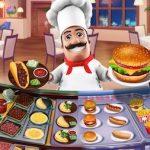 Trucchi Food Court Hamburger Cooking